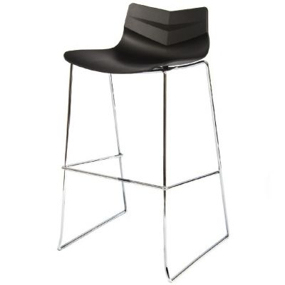 Leaf Skid Base Stackable High Chair