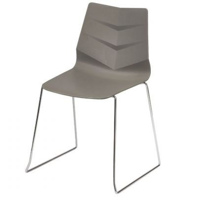 Leaf Skid Base Stacking Side Chair