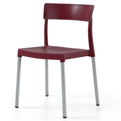 Lilly Aluminium Side Chair