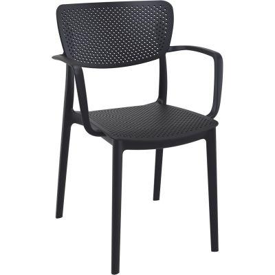 Loft Arm Chair (Black)