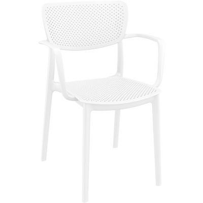 Loft Arm Chair (White)