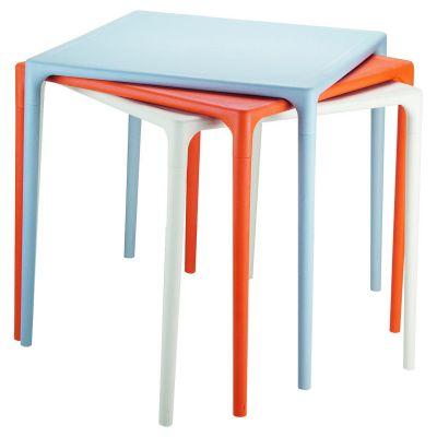 Mango Stacking Table (Orange)