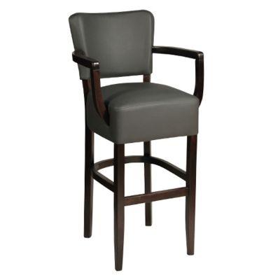 Memphis Open Arm High Chair (Vena Grey)