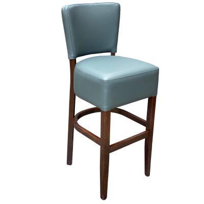Memphis Standard High Chair (Vena Grey / Walnut)
