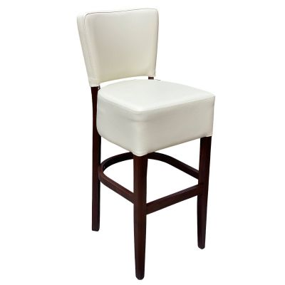 Memphis Standard High Chair (Vena Ivory / Walnut)