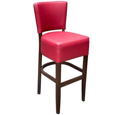 Memphis Standard High Chair (Vena Wine / Walnut)