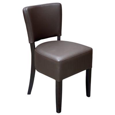 Memphis Standard Side Chair (Dark Brown / Walnut)
