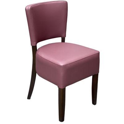 Memphis Standard Side Chair (Plum / Walnut)
