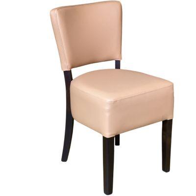 Memphis Standard Side Chair (Cappuccino / Walnut)