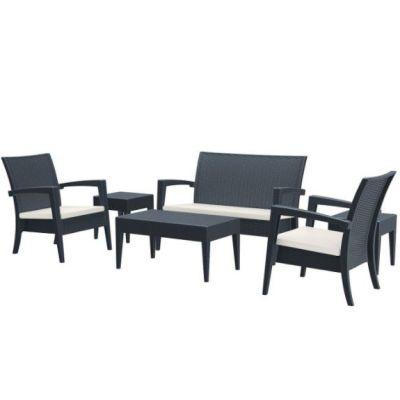 Miami Lounge Set (Dark Grey)
