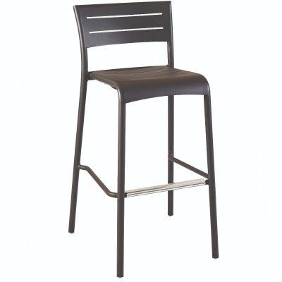 Montpellier High Chair (Dark Grey)