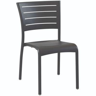 Montpellier Side Chair (Dark Grey)