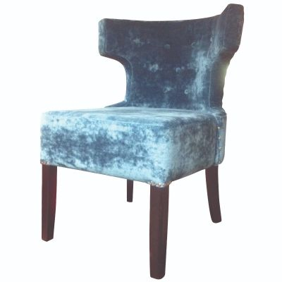 Monza Float Button Wing Side Chair