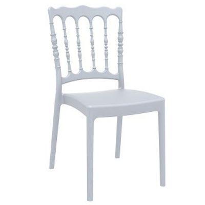Napoleon Side Chair (White)