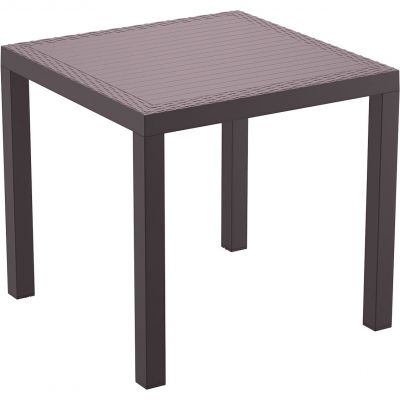 Orlando Dining Table 80 (Brown)
