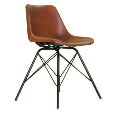 Patriot Side Chair (Brown)