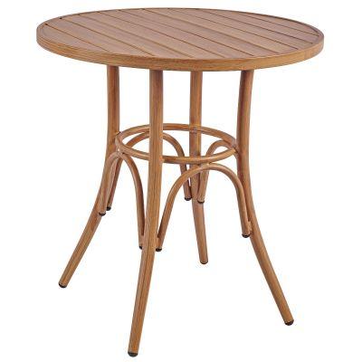 Prague Round Dining Table (Natural)