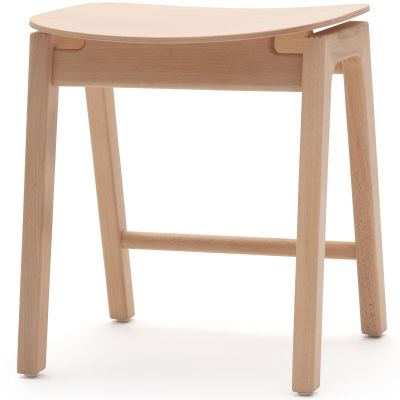 Ritz Solid Seat Low Stool