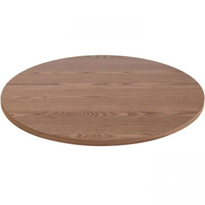 Round Solid Ash Table Top