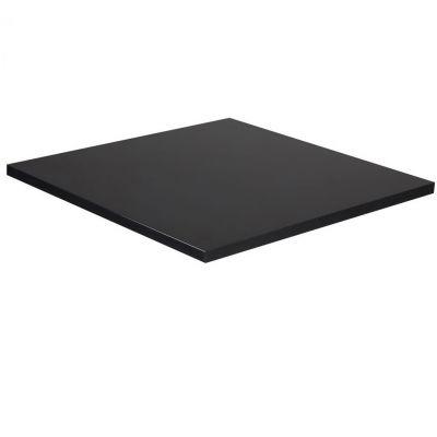 Mono Laminate Square Table Top - 600mm x 600mm (Black)