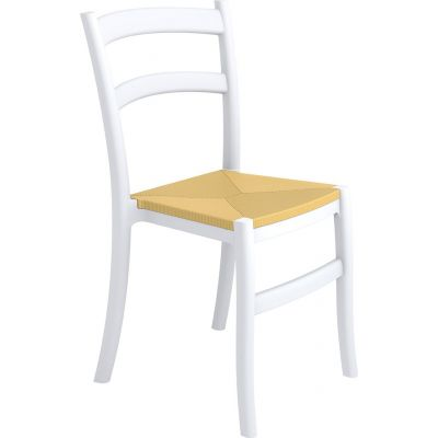 Tiffany-S Side Chair (White)