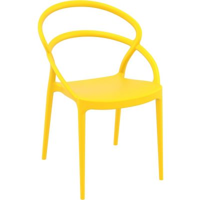 Pia Side Chair (Yellow)