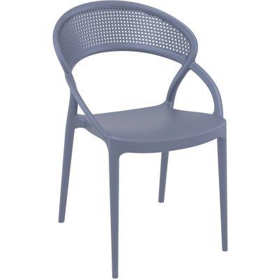 Sunset Side Chair (Dark Grey)