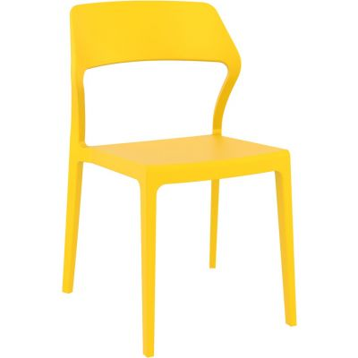 Snow Side Chair (Yellow)