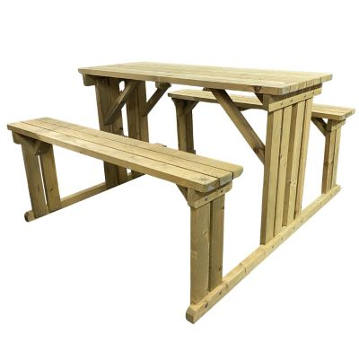 Jersey 6 Seater Picnic Bench