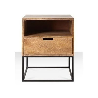 Katju One Drawer Side Table