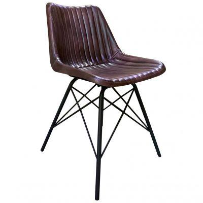 Patriot Rib Side Chair (Brown)
