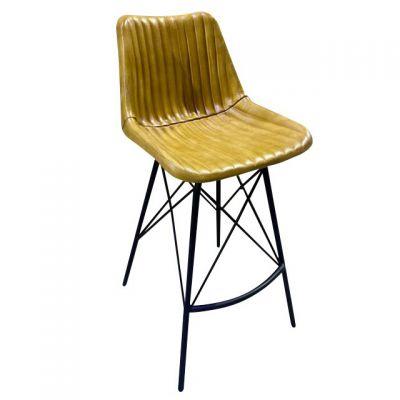 Patriot Rib High Chair (Light Brown)