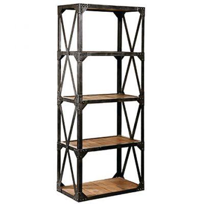 Industrial Four Shelf Rack