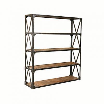 Industrial Four Shelf Wide Rack