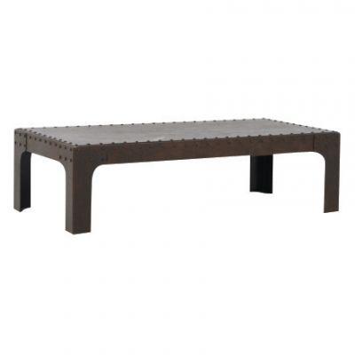 Rivet Rectangle Coffee Table E