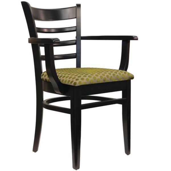 Dane UPH Seat Open Arm Carver Chair