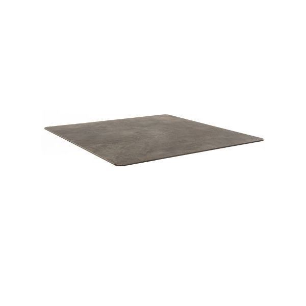 Square Compact Laminate Table Top - 700mm x 700mm (Cement)