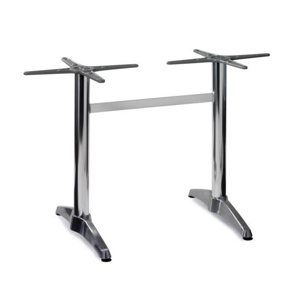 Aluminium Refectory Dining Table Base