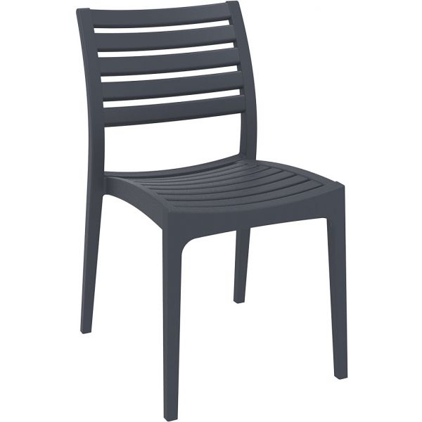 Ares Side Chair (Dark Grey)