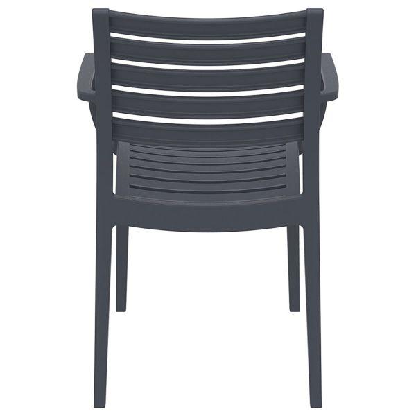 Artemis Arm Chair (Dark Grey)
