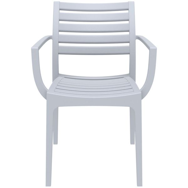 Artemis Arm Chair (Silver Grey)