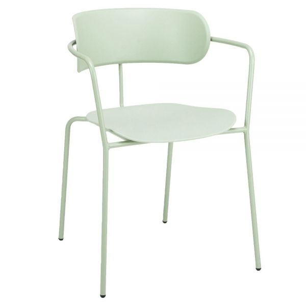 Barbican Open Arm Carver Chair (Green)