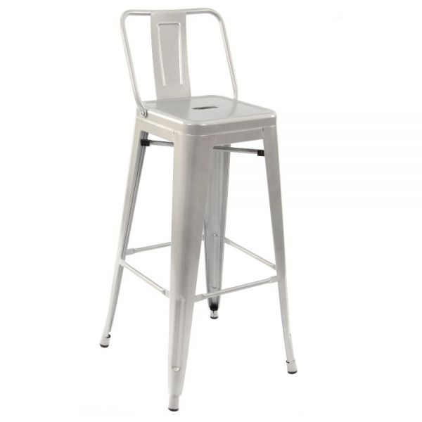 Bistro High Chair (Clear Lacquer)