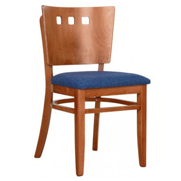 Dana HP Solid Back Square Hole Side Chair