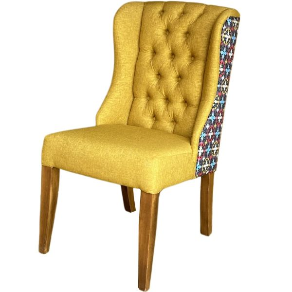 Debora Deep Button Back Side Chair