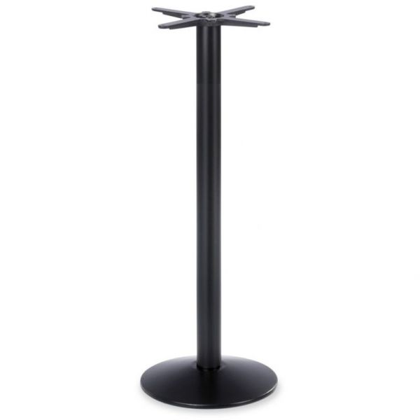 Dome Small Mid Height Table Base (Black)