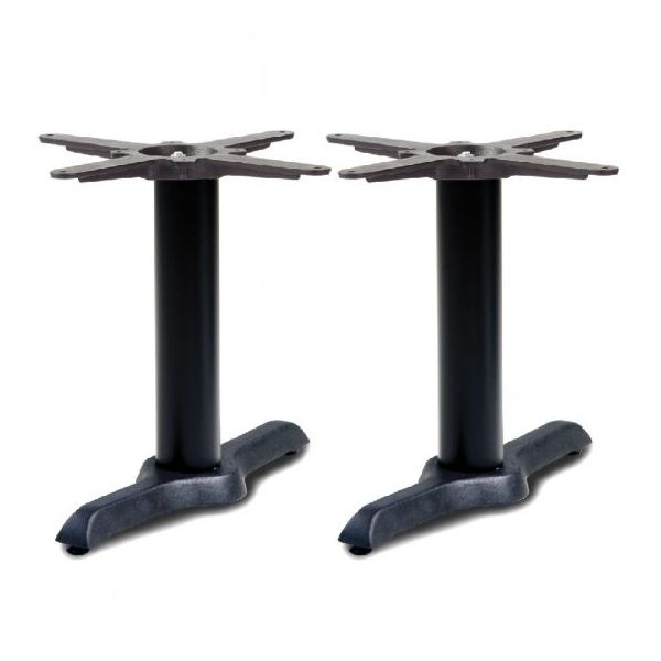 Durham Refectory Coffee Height Table Base (Black)