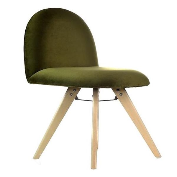 Hill Wooden Frame Side Chair