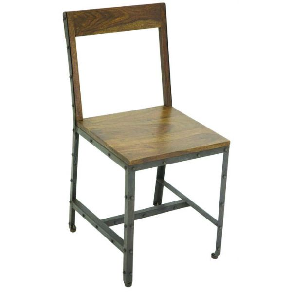 Industrial Side Chair 3