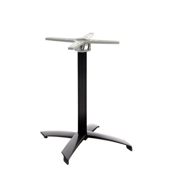 Juliana Aluminium Flip Top Dining Height Table Base (Black)